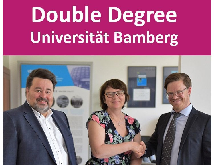 New Double Degree at the Faculty of Finance and Accounting, VŠE Prague with Otto-Friedrich Universität in Bavaria, Germany