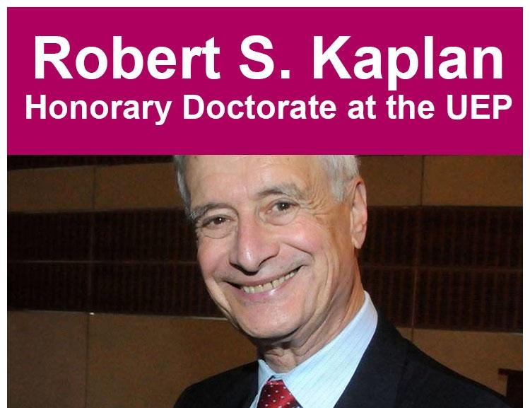 Doctor Honoris Causa for prof. Robert S. Kaplan