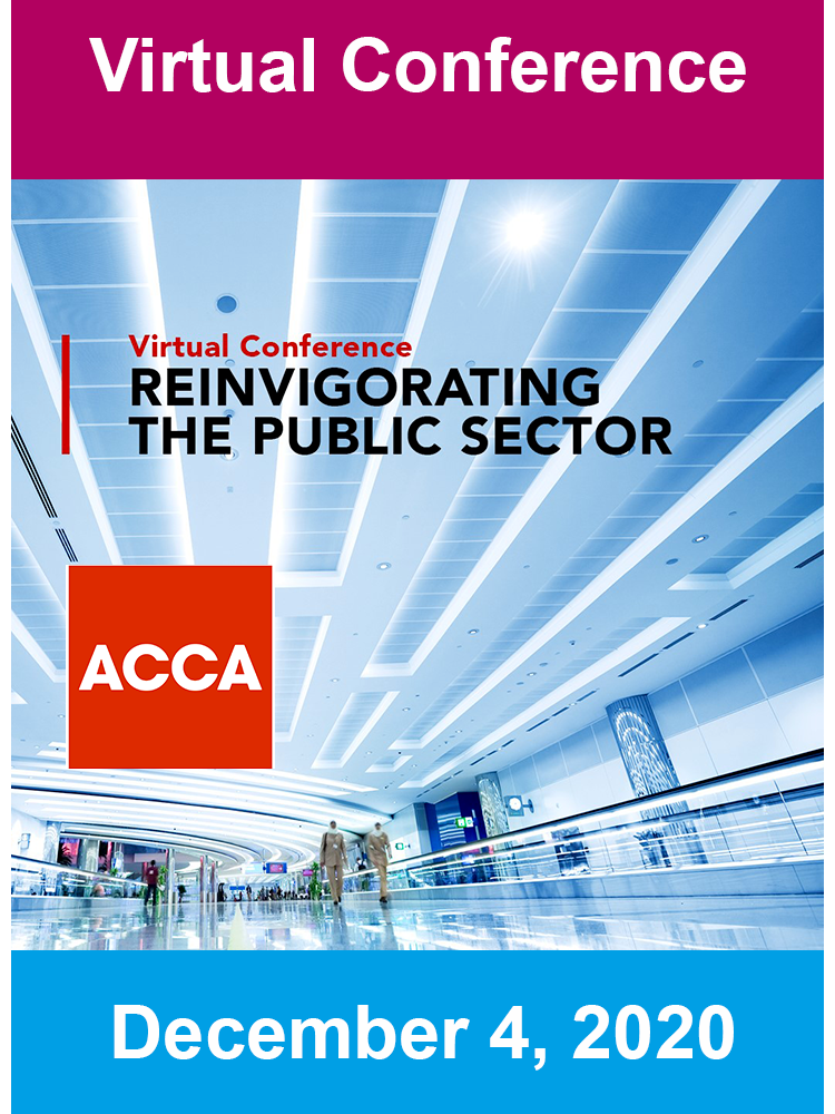 Reinvigorating the Public Sector: Transformation through crisis – an ACCA Public Sector Conference 2020