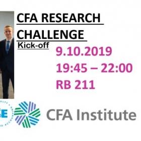 CFA Institute Research Challenge 2019- Kick-off
