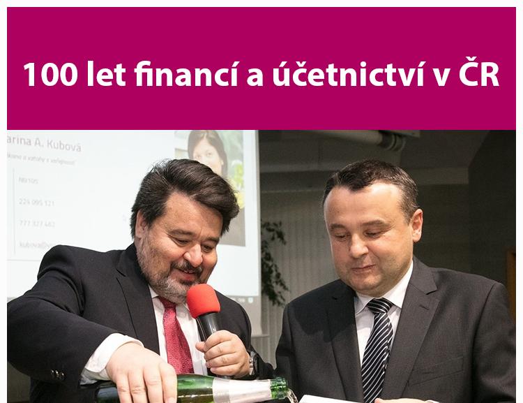 100 let financí a účetnictví v ČR