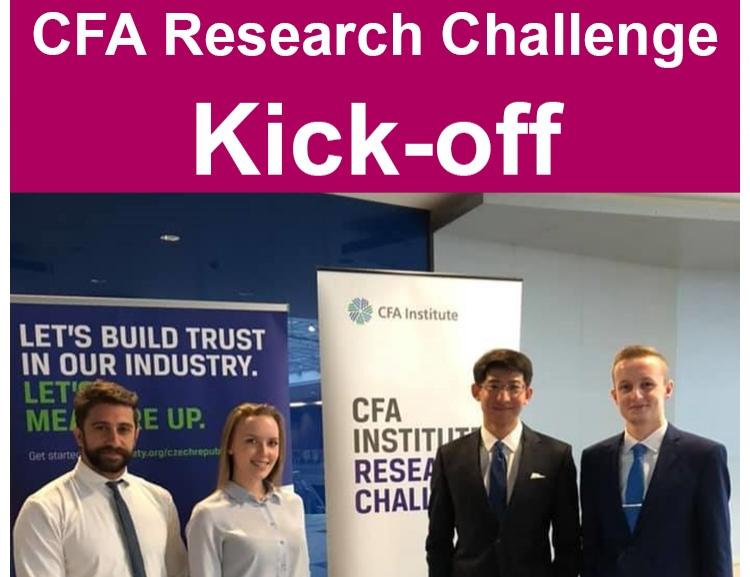CFA Institute Research Challenge 2019 Kick-off