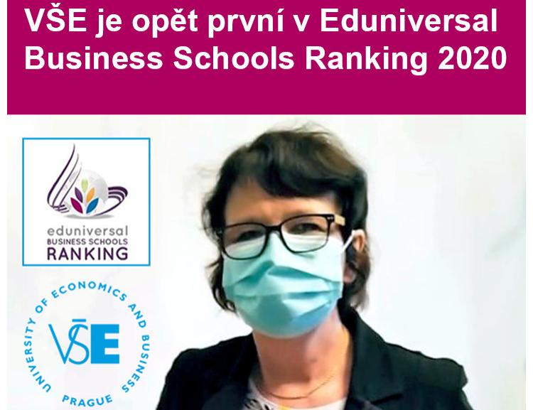 VŠE je opět nejlepší business školou ve východoevropském regionu