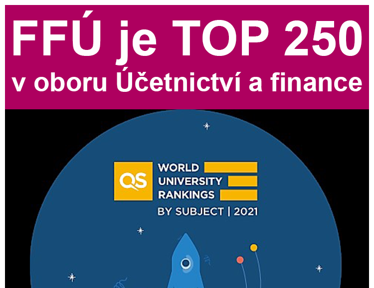 FFÚ se zlepšila v QS World University Rankings by Subject 2021