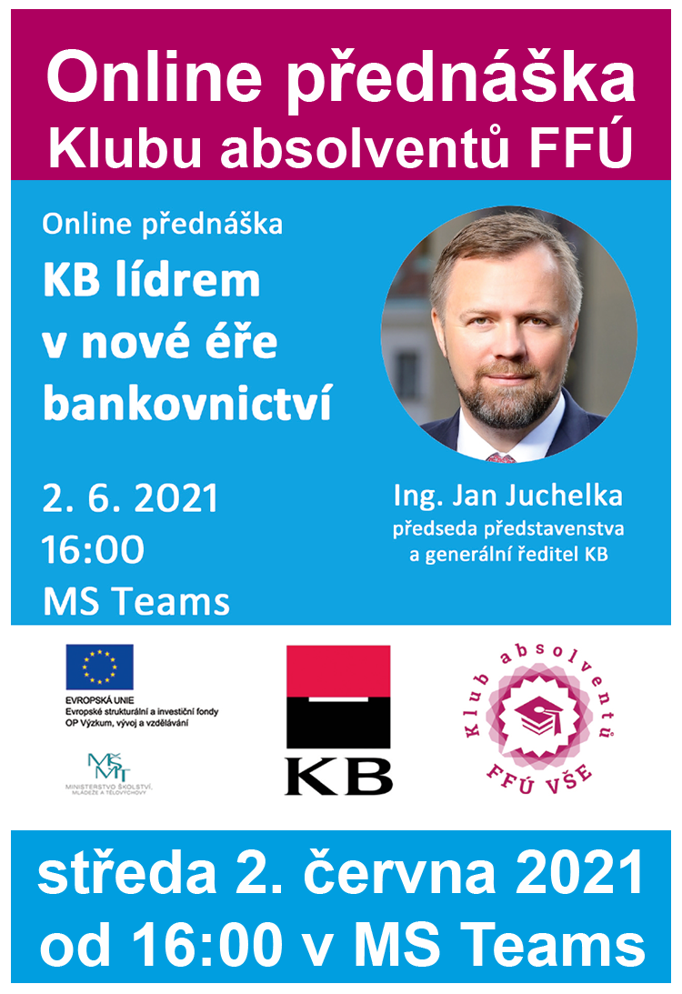 Online přednáška: KB lídrem v nové éře bankovnictví