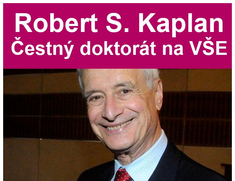 Prof. Robert S. Kaplan – doctor honoris causa