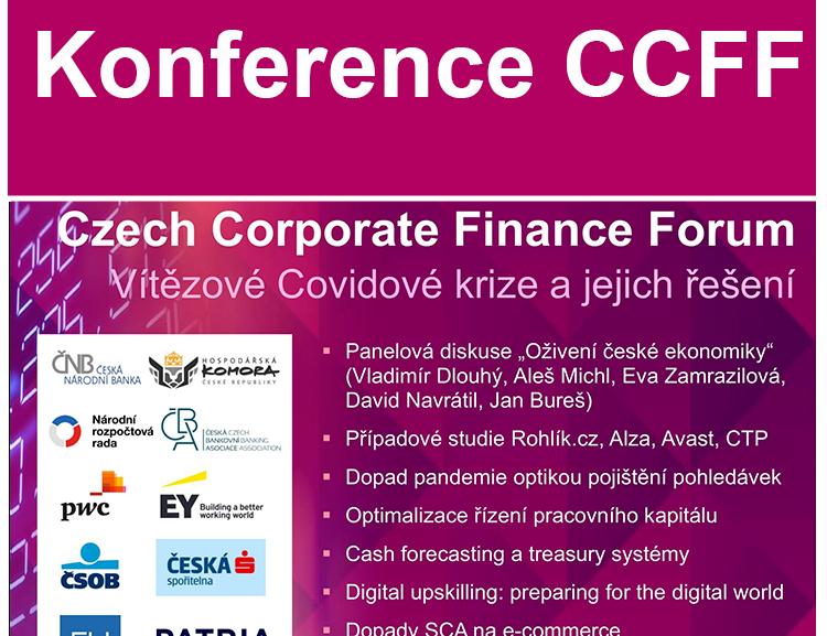 Pozvánka na konferenci Czech Corporate Finance Forum