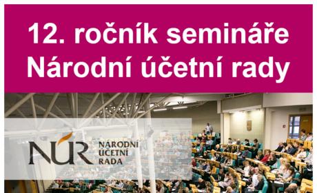 12. ročník odborného semináře NÚR