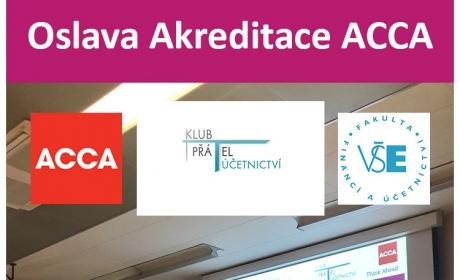 FFÚ oslavila akreditaci ACCA