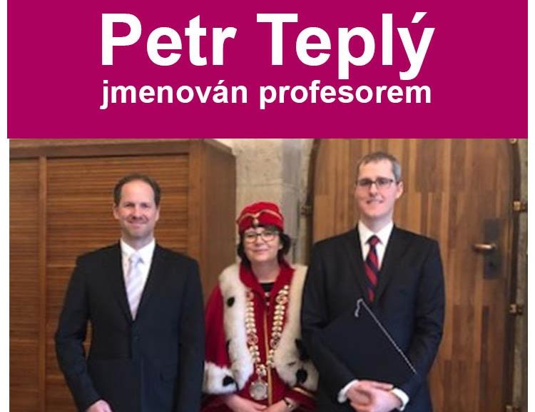 Petr Teplý z FFÚ jmenován profesorem