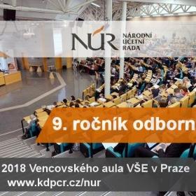 9. ročník semináře Národní účetní rady