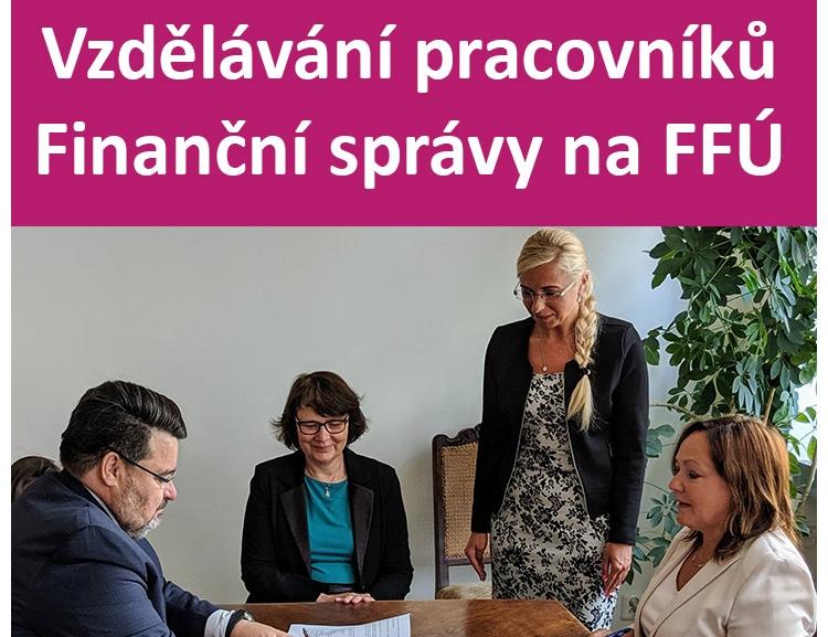Vzdělávání pracovníků Finanční správy na FFÚ VŠE v Praze