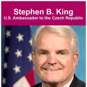 Přednáška velvyslance USA v ČR Stephena B. Kinga