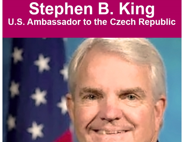 Fotogalerie z přednášky velvyslance USA v ČR Stephena B. Kinga