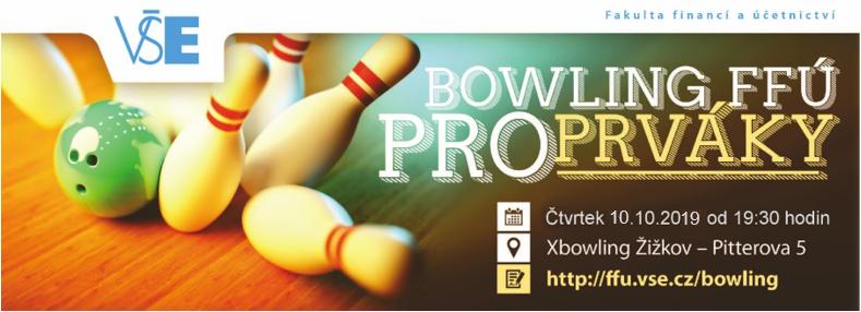 Bowling pro prváky FFÚ 2019