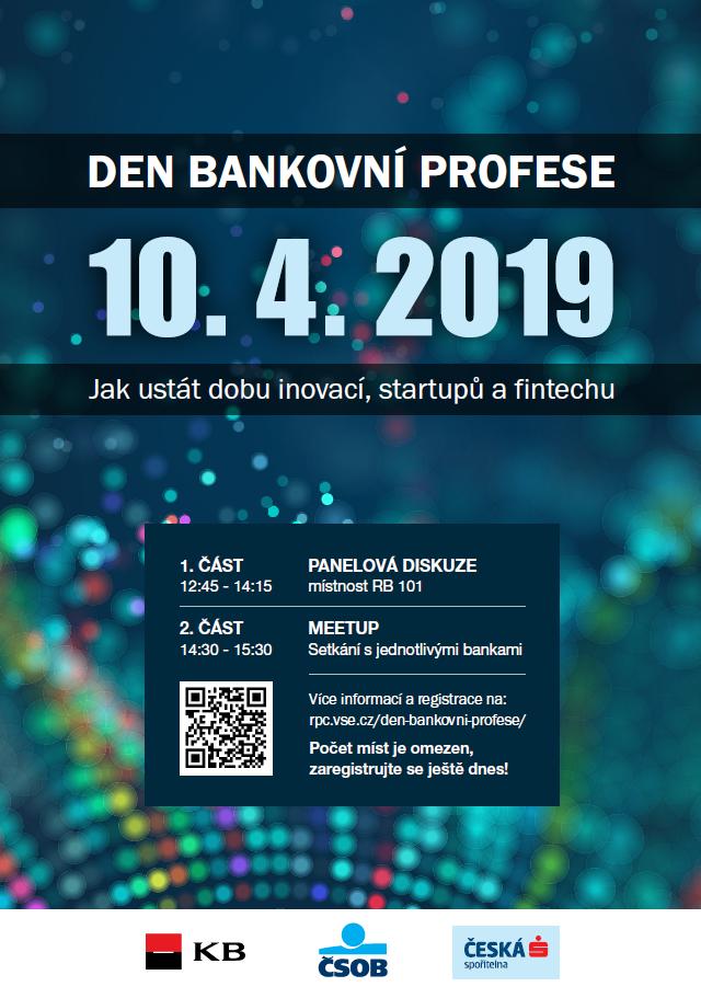 Den bankovní profese