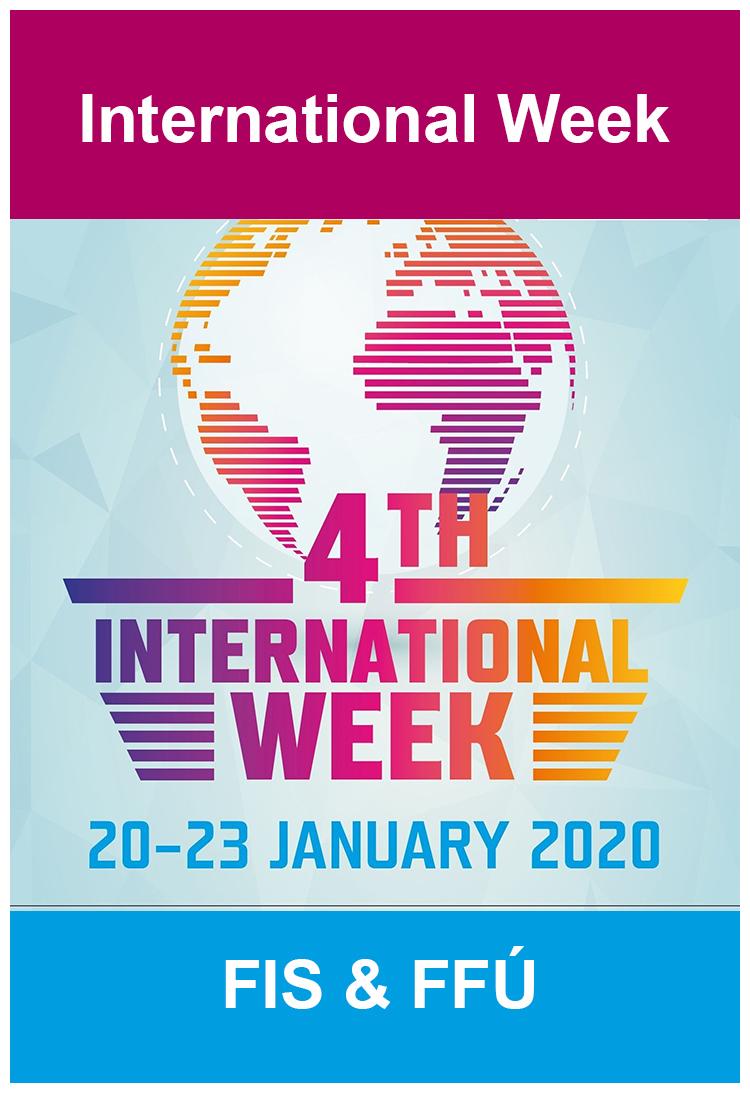 """International week"" na FFÚ"
