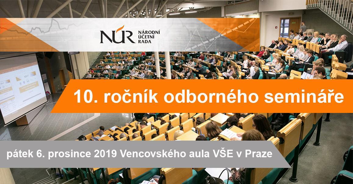 10. ročník semináře Národní účetní rady