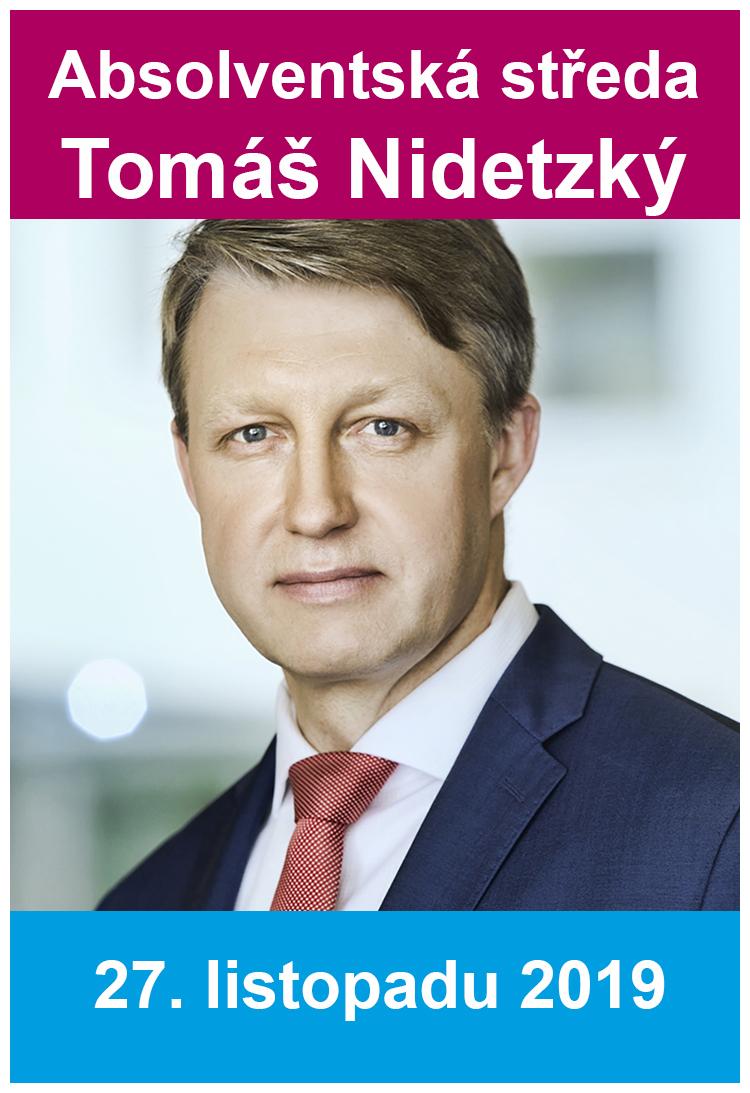 Absolventská středa: Tomáš Nidetzký o regulaci a dohledu nad finančním trhem