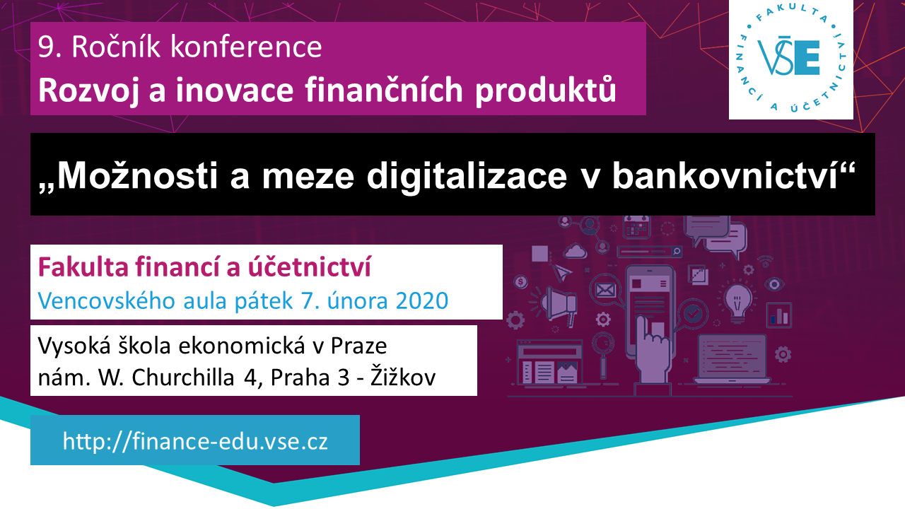 """Konference """"Rozvoj a inovace finančních produktů"""""""