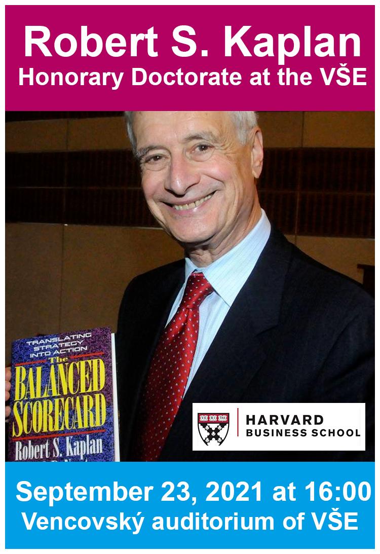 Živý přenos slavnostního udělení čestného doktorátu prof. Robertu S. Kaplanovi