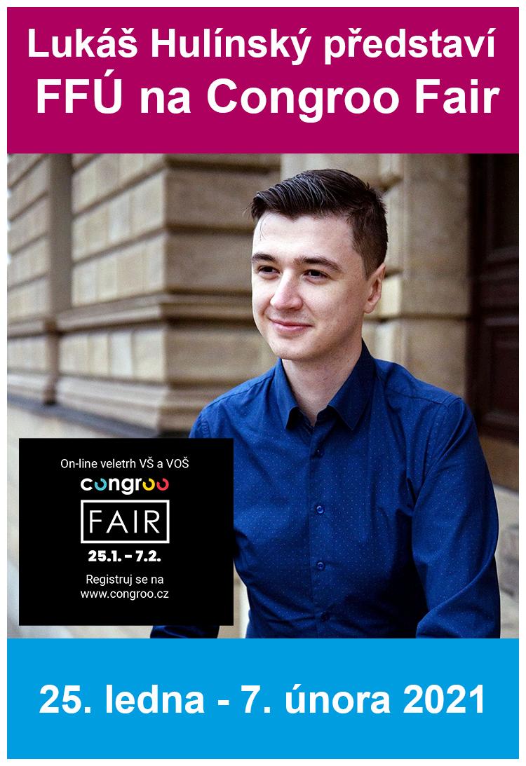 Lukáš Hulínský představí FFÚ na online veletrhu Congroo Fair