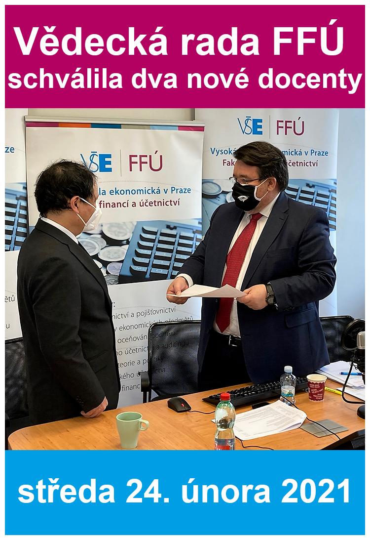 Vědecká rada FFÚ schválila nové docenty
