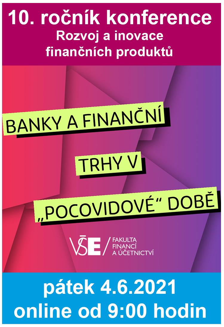 Konference Rozvoj a inovace finančních produktů